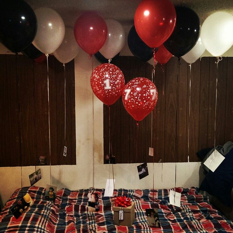 17th birthday suprise | Realationship Ideas | 17th ...