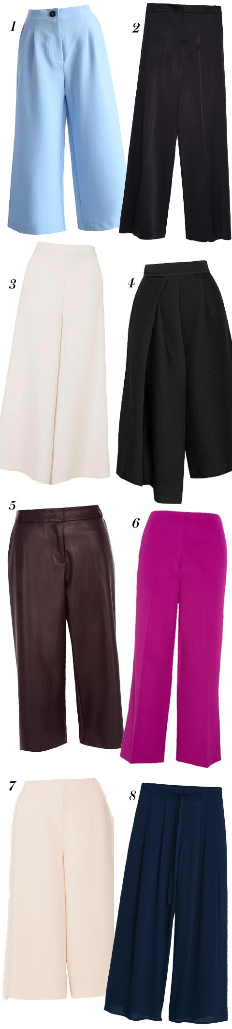Shop this season's best wide-leg pants.