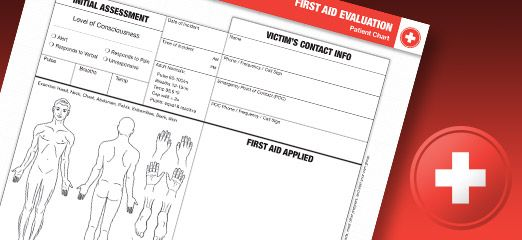 Why A First Aid Medical Evaluation Chart Is Important  Whenever