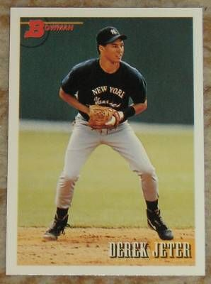 Images Of Derek Jeter Rookie Baseball Cards Derek Jeter
