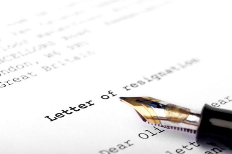Resignation Letter Samples For Personal Reasons  Resignation