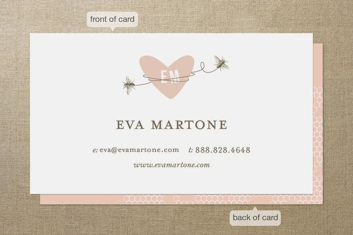 Sweet bees business cards by oscar emma minted oubliette sweet bees business cards by oscar emma minted colourmoves