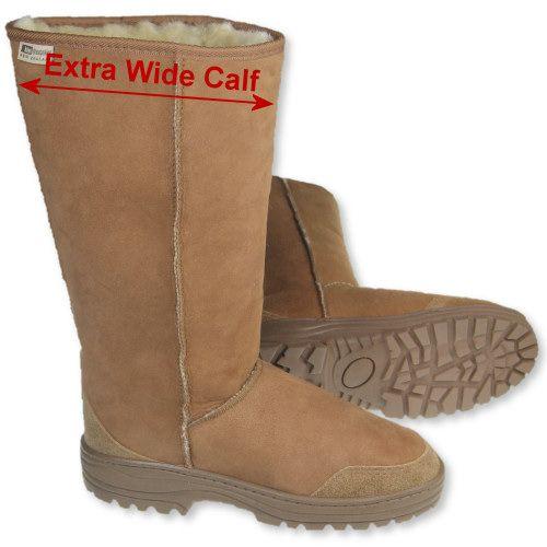 Extra wide calf, Boots, Sheepskin boots