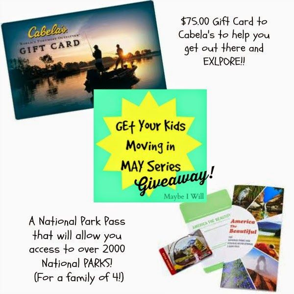 Healthy Kids Giveaway The Happy Gal Kids Giveaway National Park Pass Giveaway