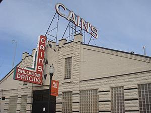 Cain's Ballroom in Tulsa.