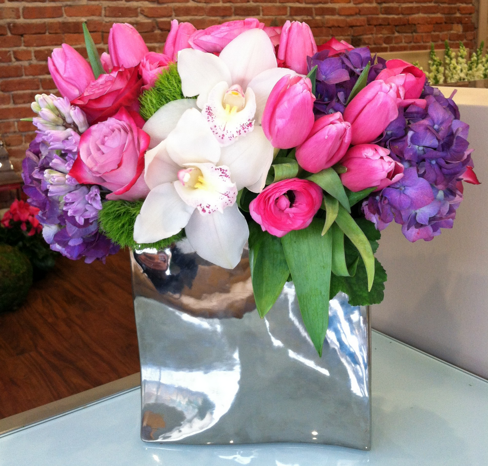 Pastel Spring Blooms Flower delivery, Beautiful flower