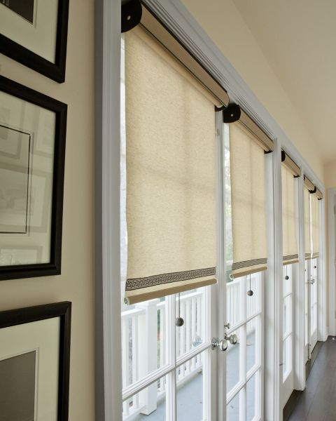 Classic Roller Shades 12679 Blinds For French Doors