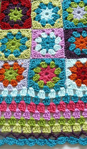 Ravelry: loupoo's Baby blanket no.1
