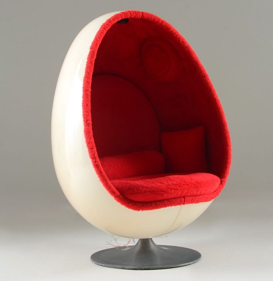 Speakers · $736. Nov.2015. A Stylish And Comfortable 1960s Vintage Egg Chair.  It