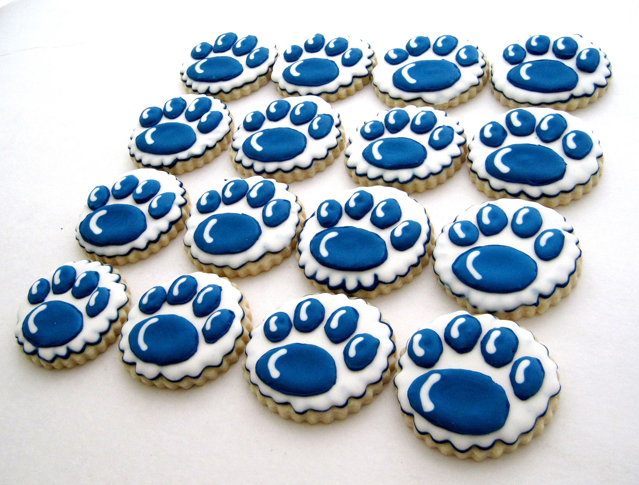 Penn State Nittany lion paw cookies Flickr Photo