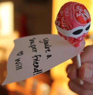 Caped Crusader Valentines - The Purposeful Mom