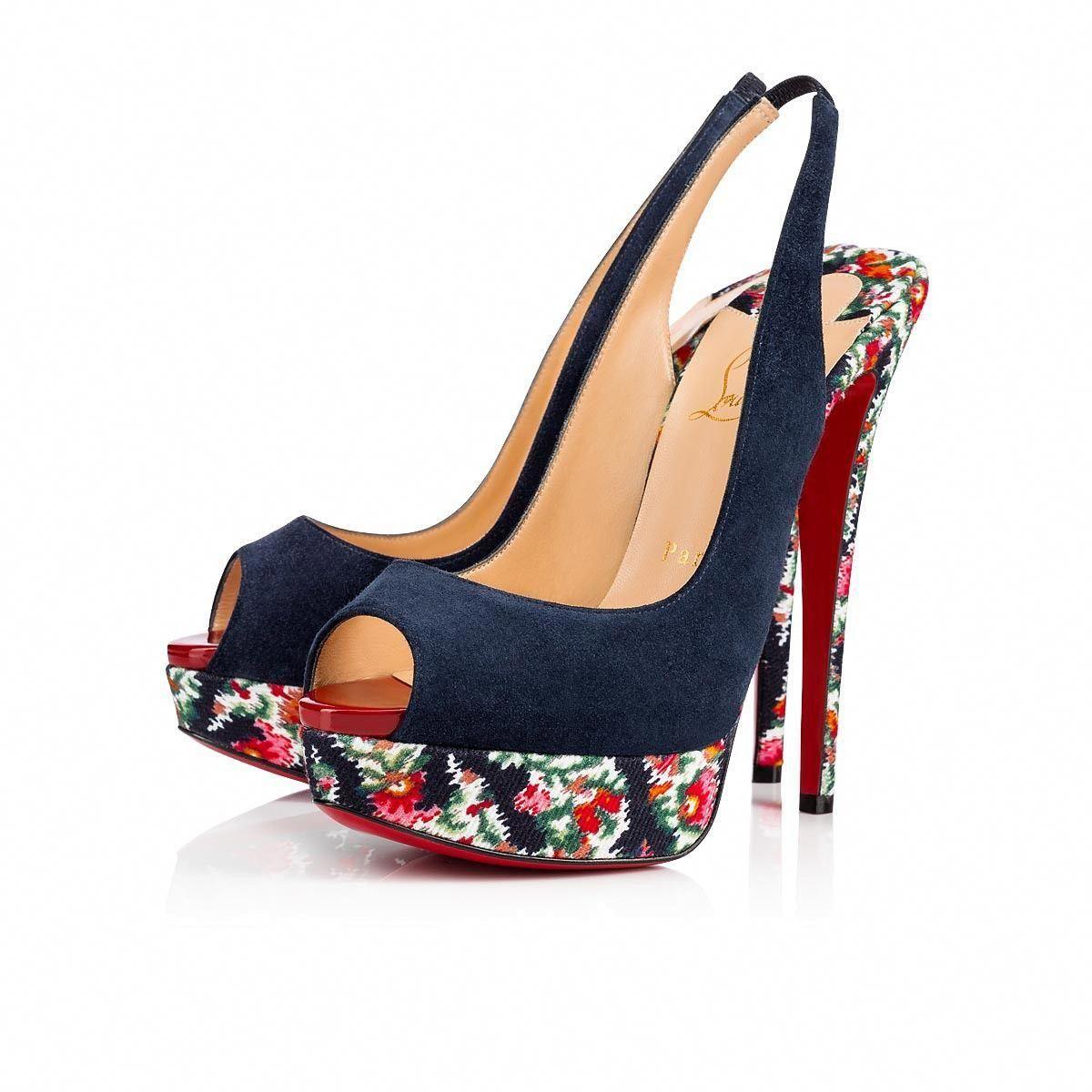 9b5cfa8b53a Shoes - Lady Peep Sling - Christian Louboutin #ChristianLouboutin ...