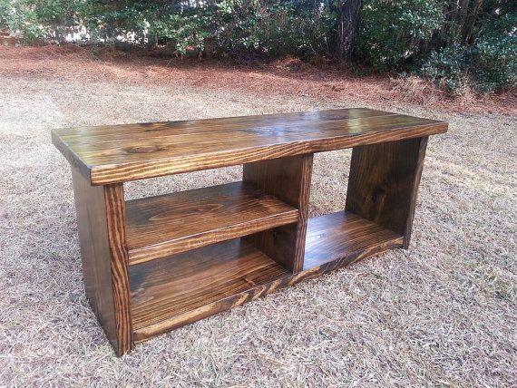 Custom Order Rustic Bench for Laura | Estantería, Zapatos y ...