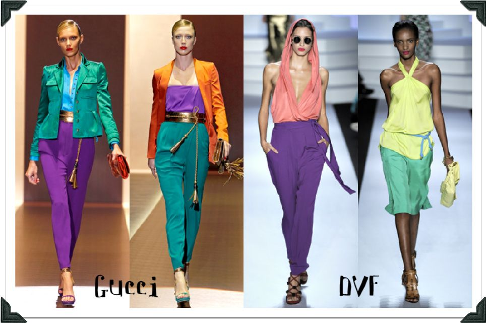 love the color blocking trend