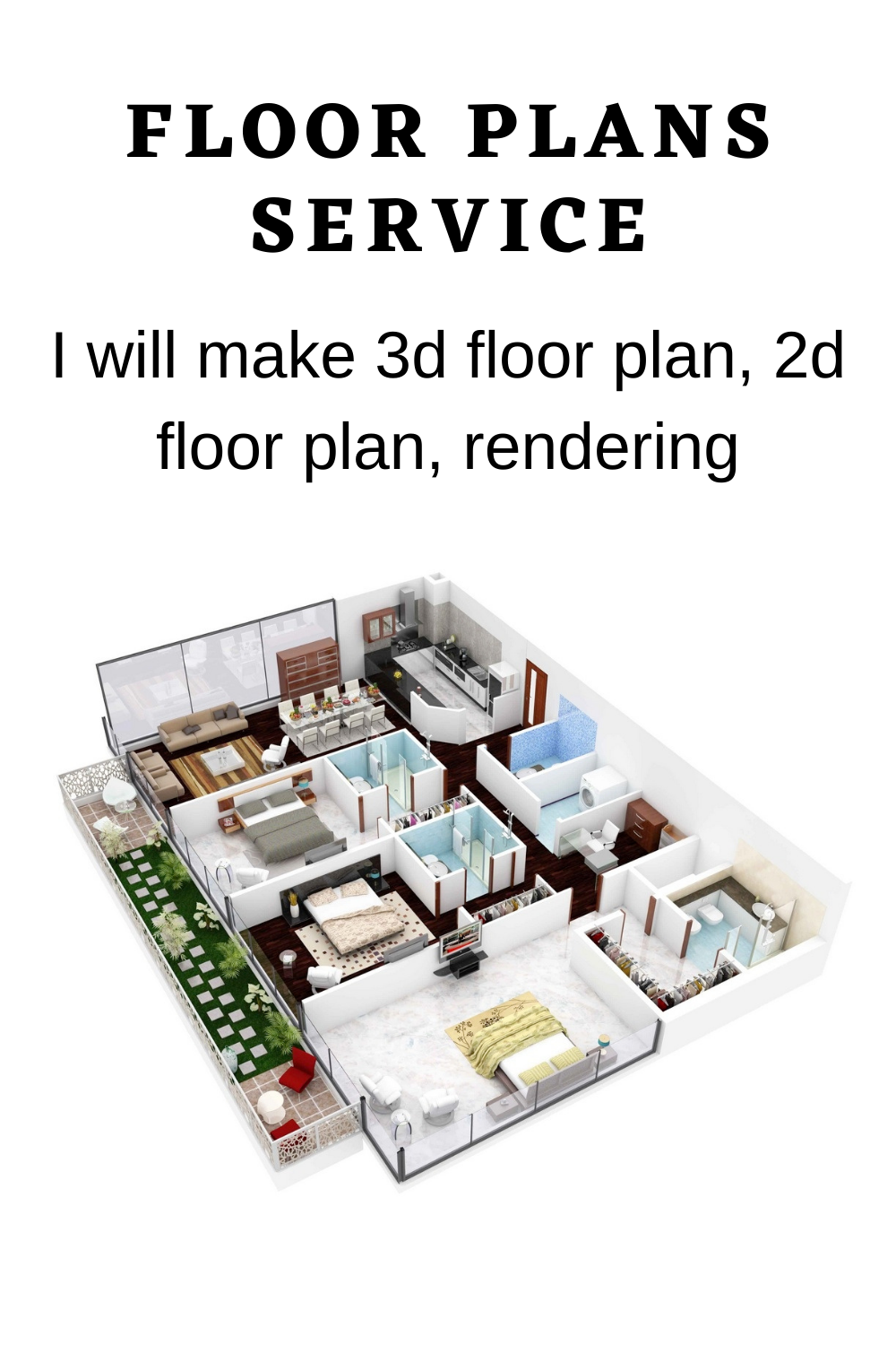 I Will Make 3d Floor Plan 2d Floor Plan Rendering Home Plans Flooring Ideas Farmhouse Plans Floor Plans One Level House Plans Floor Plans Ranch