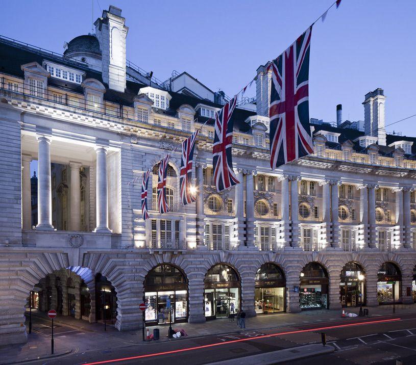 Cafe Royal Hotel Amazing Architecture London England
