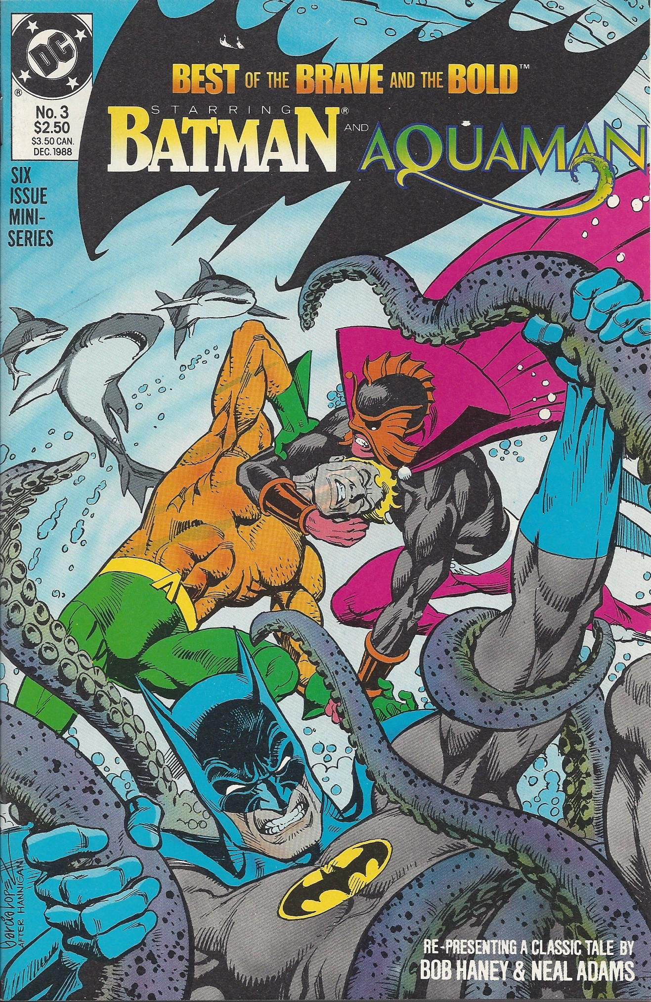 Best Of The Brave And The Bold 3 Of 6 Mini Series With Batman And