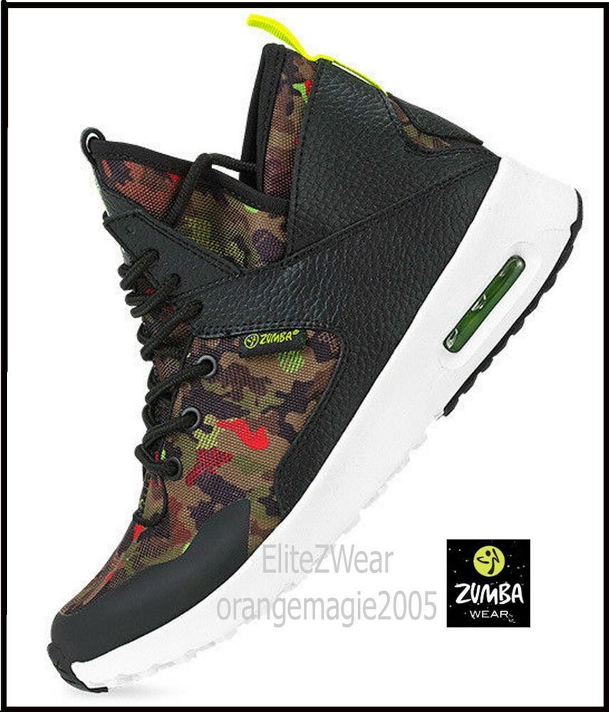 Details about ZUMBA High Top Shoes Trainers w Impact Max