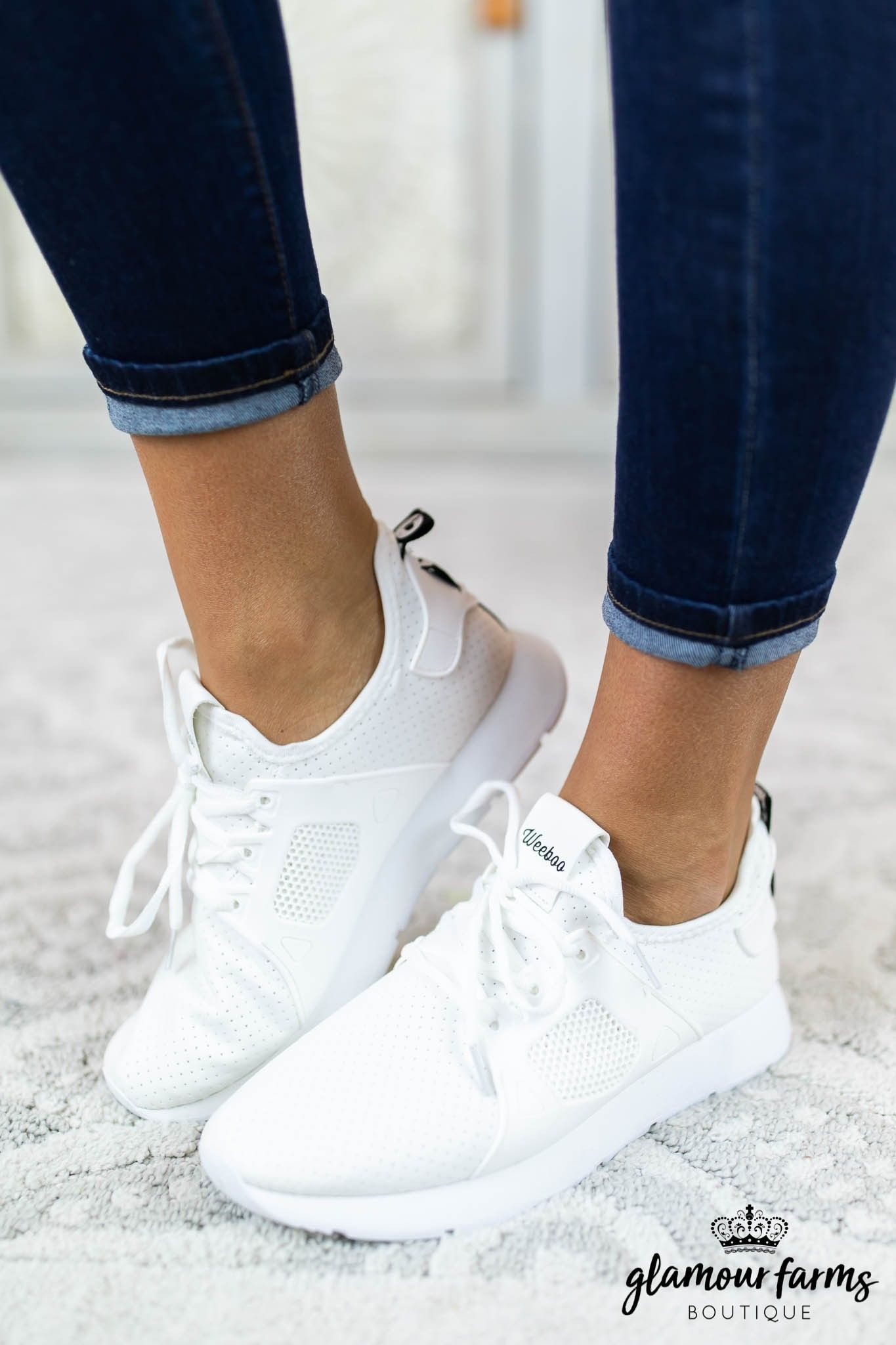 58bf44ebfe0 Amanda Lace-Up Sneaker - White in 2019 | GF Spring 2019 | Sneakers ...