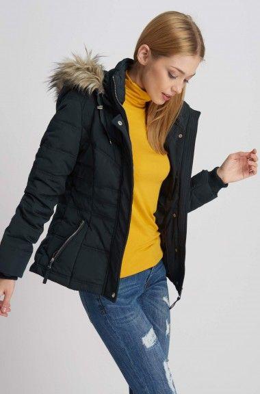 Puchowa Kurtka Z Kapturem Winter Jackets Jackets Fashion