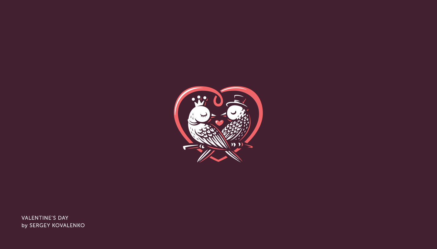 Best Ever Valentine S Day Logo Design Collection To Warm Up Your