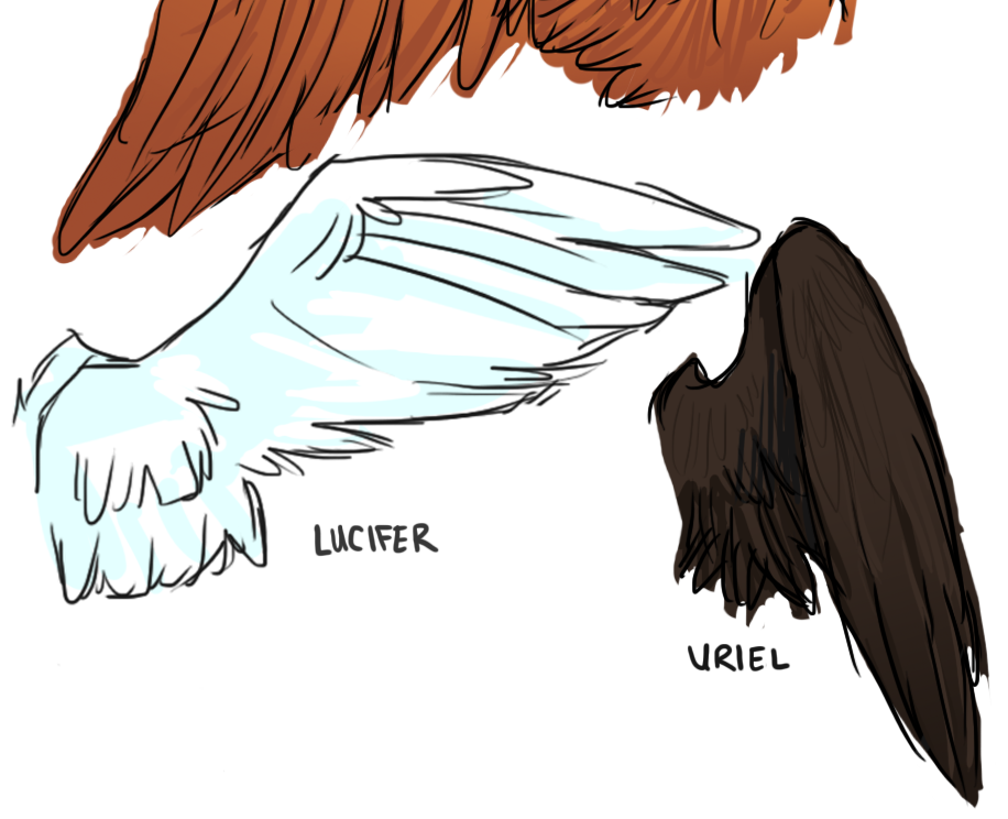 Angel's Wings (3/3)- Lucifer and Uriel | Supernatural