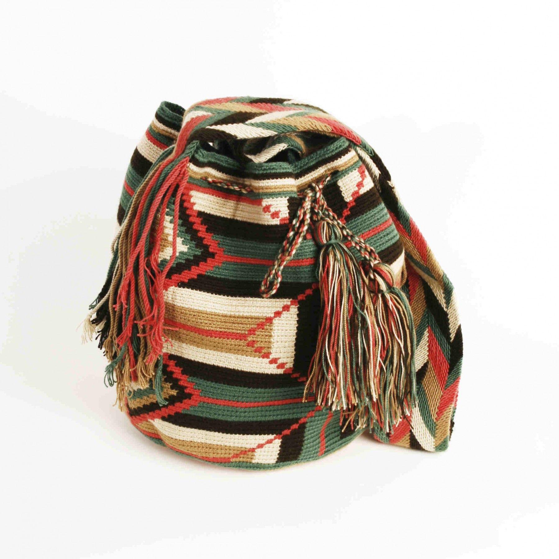 Wayuu Mochila veske Colombia  Boxit