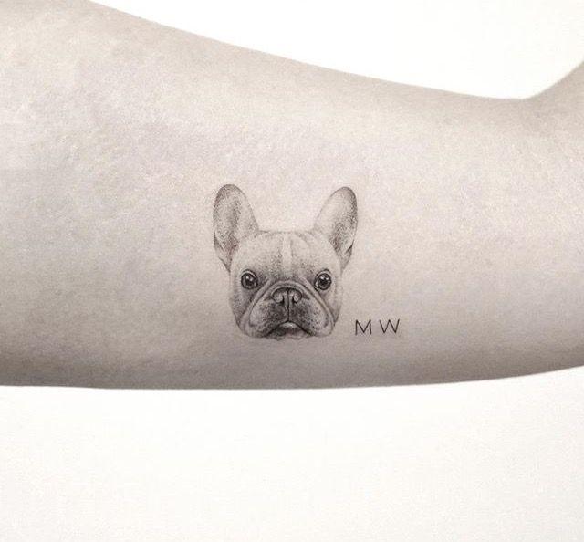 d812c10bc Mops Tattoo, Tatoo, Pug Tattoo, Tattoo Black, Face Tattoos, Mini Tattoos