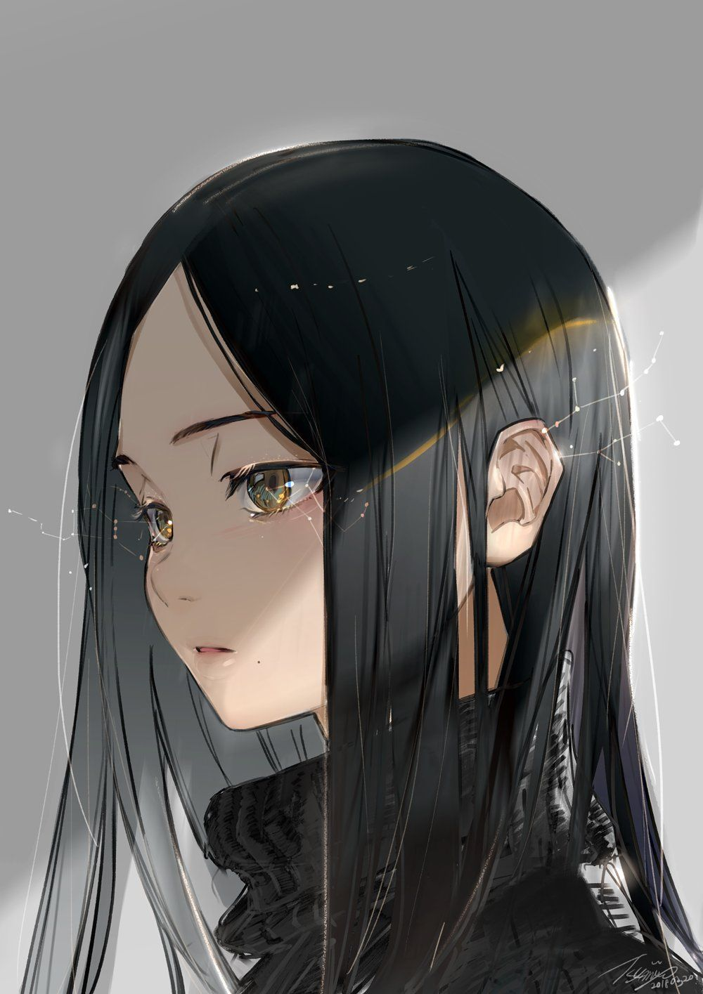 https://twitter.com/  Anime black hair, Anime art girl, Manga girl