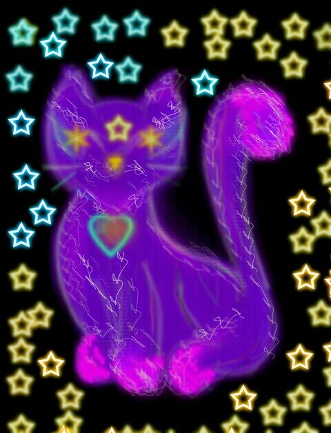 Kitty cat the star