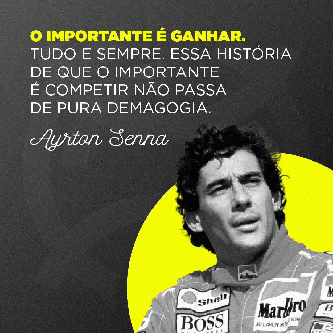 Ayrton Senna Historia Titulos Recordes Carreira E Frases