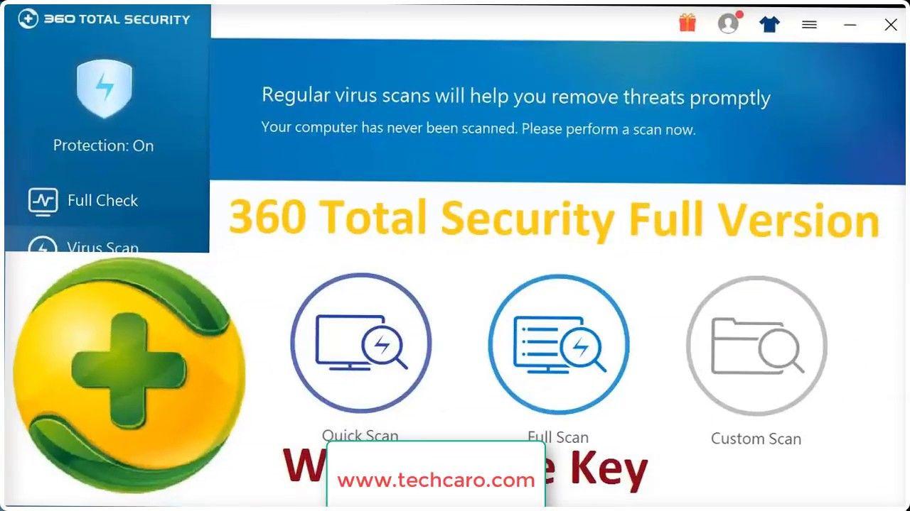 360 Total Security Download Full Version APK + PC [Keys