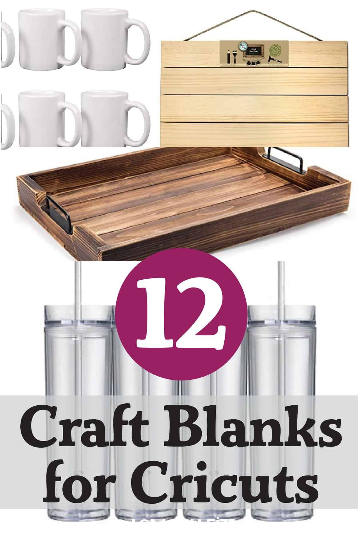 12 Different Craft Ideas for Your Cricut