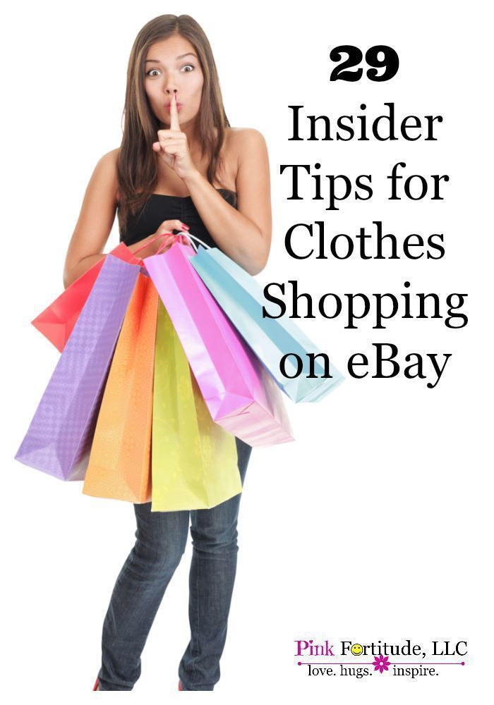 29 Insider Tips for Clothes Shopping on eBay - Pink Fortitude, LLC