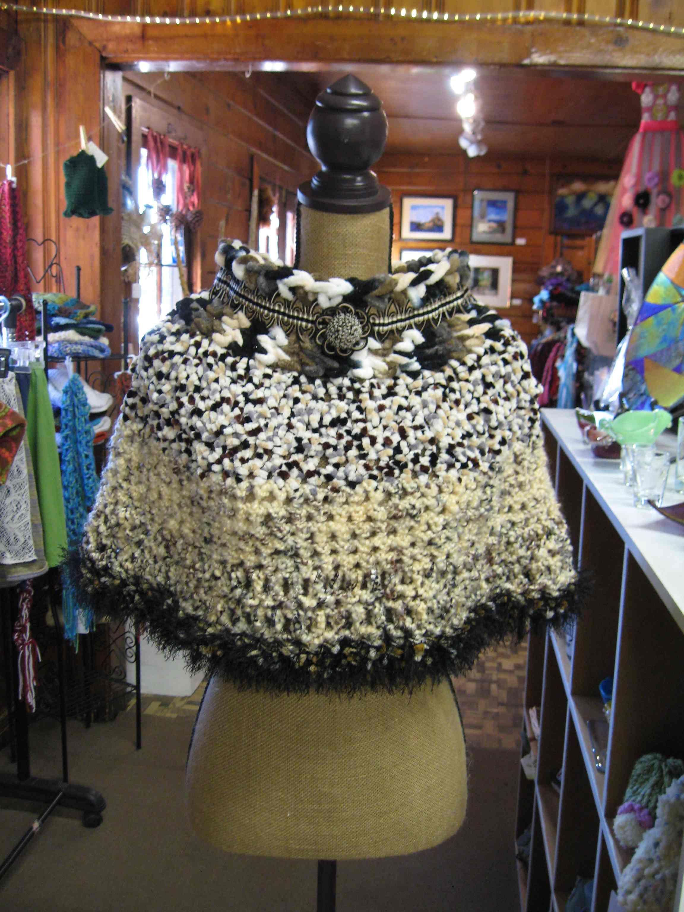 Chenille Poncho as seen on etsy $85https://www.etsy.com/listing/123423024/handmade-crochet-chenille-poncho?ref=pr_shop