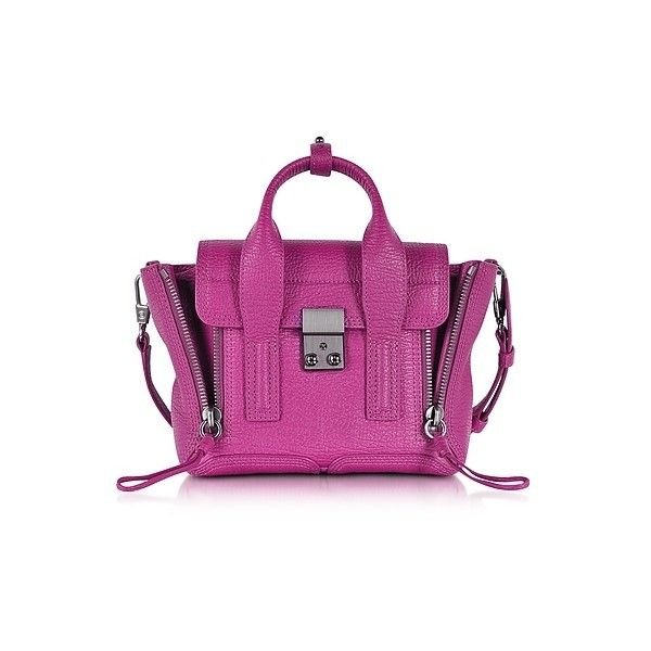 3.1 Phillip Lim Handbags, Fuchsia Pashli Mini Satchel