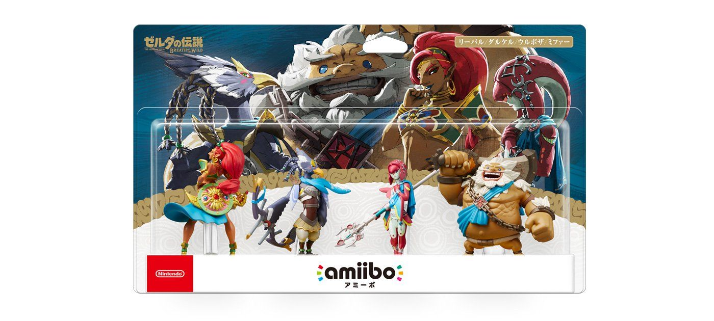 Japan Is Getting A Four Pack For The New Breath Of The Wild Amiibo