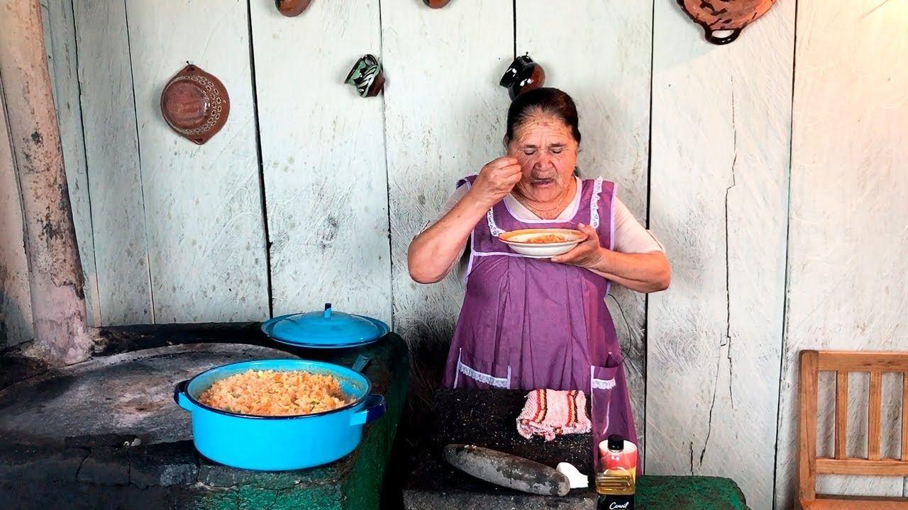 Arroz Rojo De Mi Rancho A Tu Cocina Youtube Mexican Food