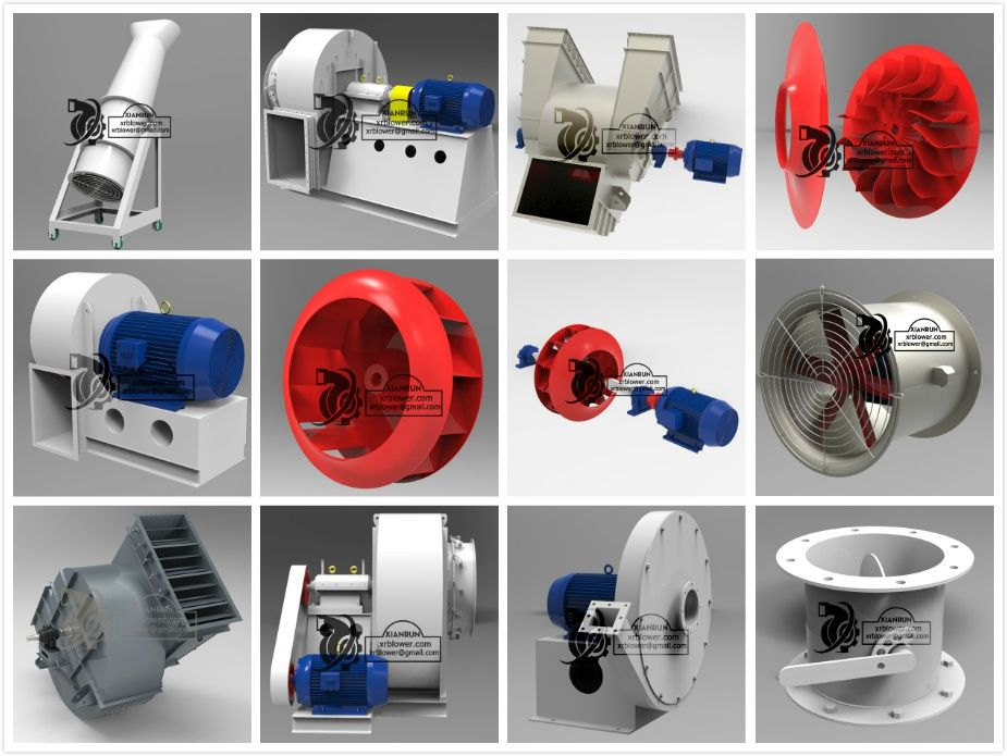 industrial fans and blowers, centrifugal fan