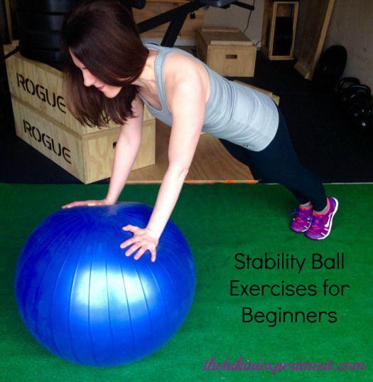 Balance Ball Kick: Stability Ball Exercises For Beginners