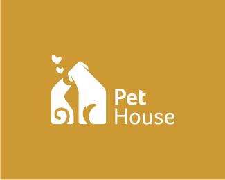 43 Funny Pet Store Logo Design For Inspiration Dog Logo Design Pet Shop Logo House Logo Design