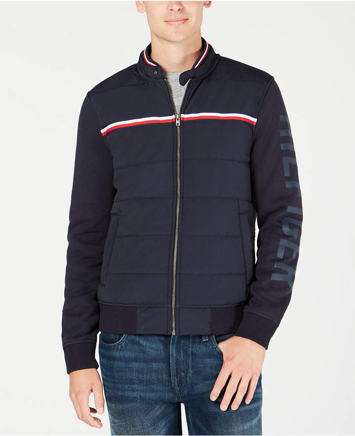Top of the World Mens Premium Fleece Full Zip Bomber Jacket
