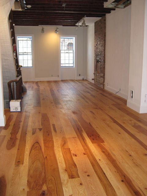 Rustic Hickory Flooring I Love The Mix Of Heartwood And