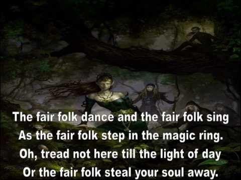 The Fair Folk With Lyrics by Heather Dale .wmv