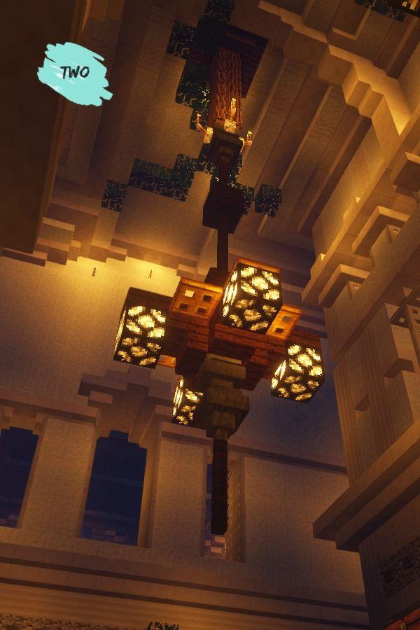 Minecraft Simple Modern Lamp In 2020 Minecraft Minecraft
