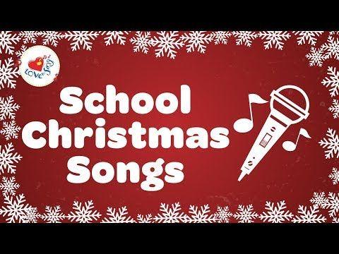 (322) Christmas Songs for Kids Playlist   School Christmas Songs 2018 - YouTube   Christmas ...