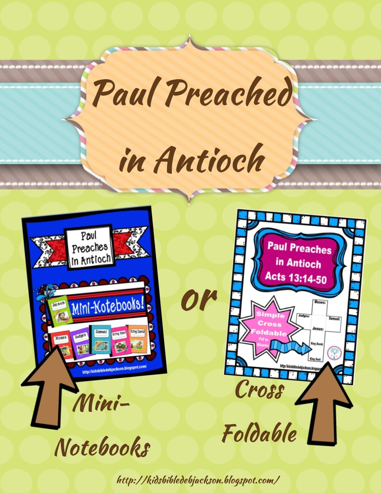 Paul Preaches In Antioch