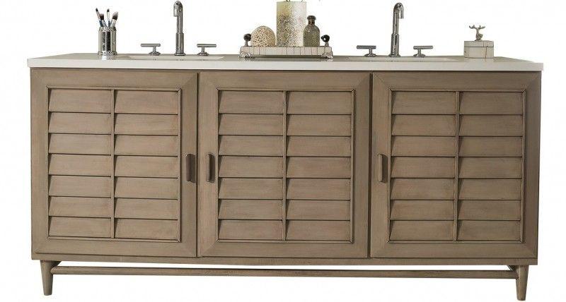 2000 72 inch double sink bathroom vanity whitewashed walnut finish rh pinterest com