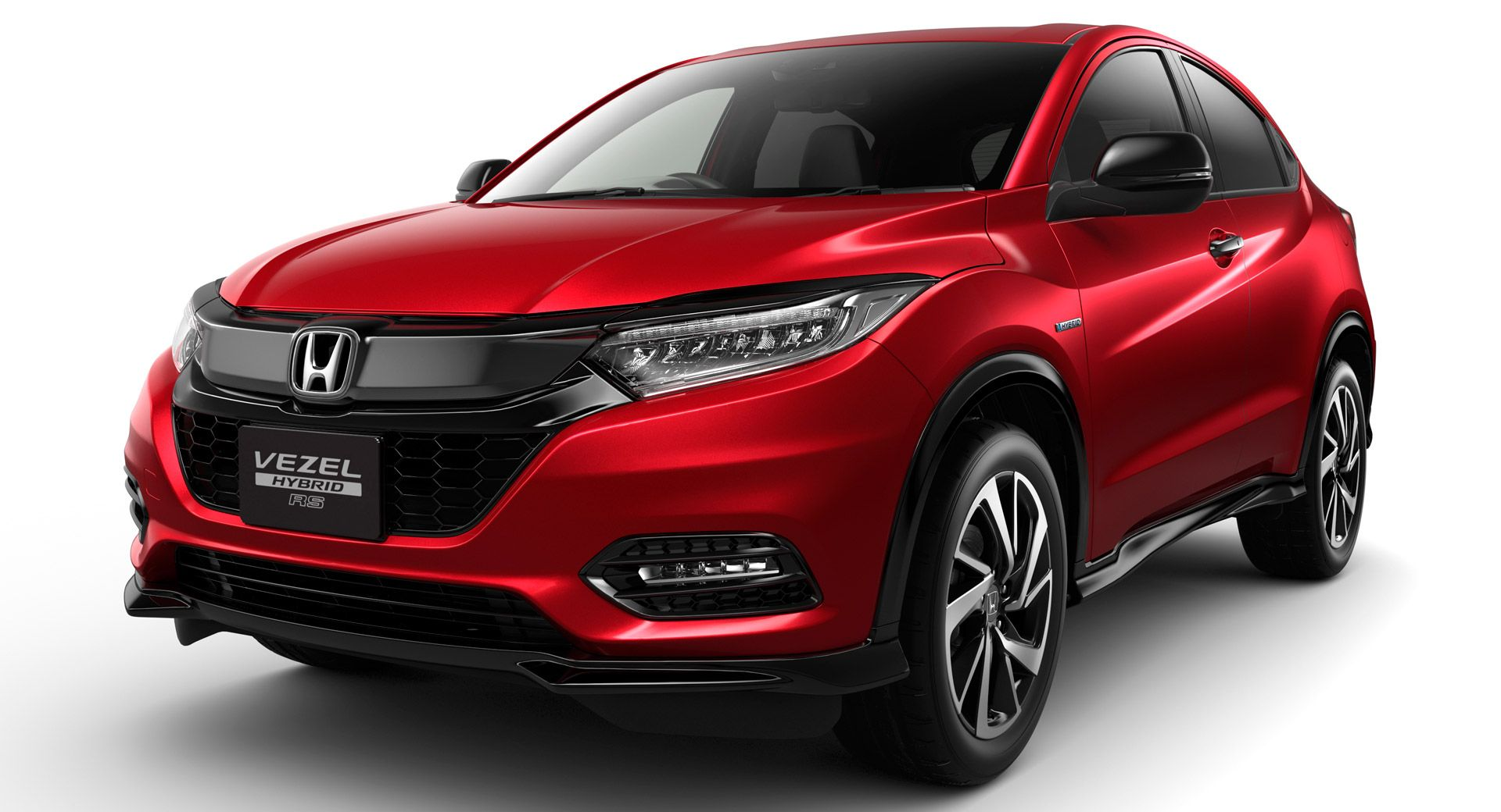 Honda Vezel Relaunches In Japan With A Mild Facelift