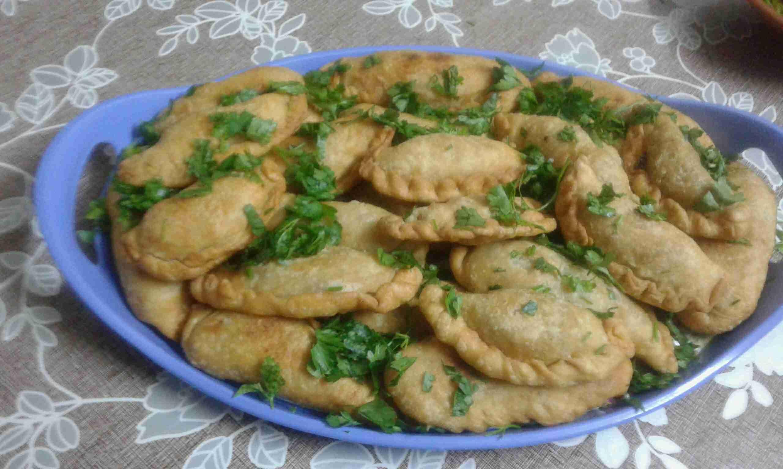 سمبوسك بصدور الدجاج ملكة أطباق فطور رمضان زاكي Food Chicken Meat